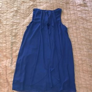 BCX Dresses - Beautiful blue dress with simple detail on back